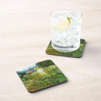 Marquerite Gachet in the Garden, Vincent van Gogh. Beverage Coaster