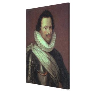 Marqués de Concino Concini de Ancre 1834 Lienzo Envuelto Para Galerias