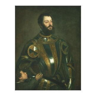 Marqués de los d Avalos de Alfonso de Vasto por Ti Impresion De Lienzo