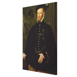 Marqués de los las Navas c 1559 Impresión En Lienzo Estirada