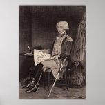 Marqués du Lafayette Póster