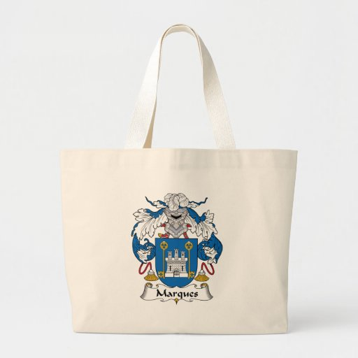 Marques Family Crest Jumbo Tote Bag