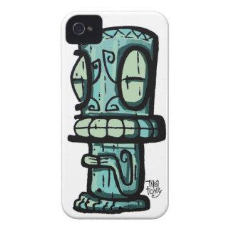 Marquesan Tiki por Tiki tOny Case-Mate iPhone 4 Funda