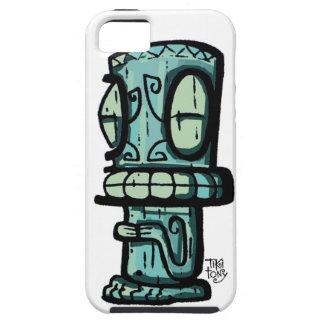 Marquesan Tiki por Tiki tOny iPhone 5 Carcasas