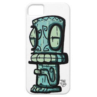 Marquesan Tiki por Tiki tOny iPhone 5 Fundas