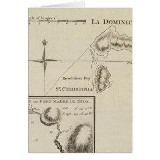 Marquesas de Mendoca, bahía de la resolución Tarjeta De Felicitación