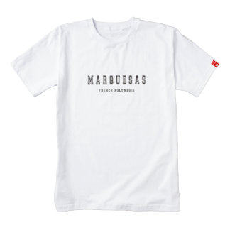 Marquesas French Polynesia Zazzle HEART T-Shirt