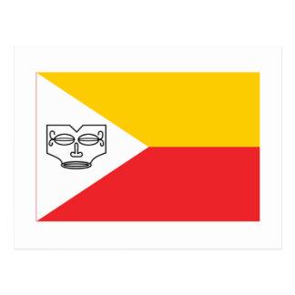 Marquesas Islands flag Postcard