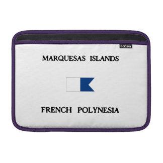 Marquesas Islands French Polynesia MacBook Sleeves