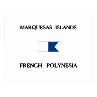 Marquesas Islands French Polynesia Postcard