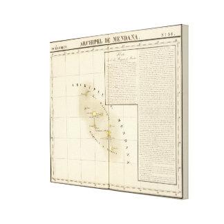 Marquesas Oceanía ningunos 34 Lienzo Envuelto Para Galerias