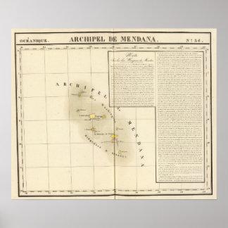 Marquesas Oceanía ningunos 34 Póster