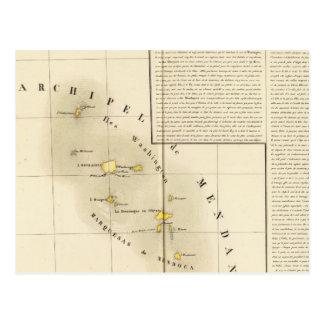 Marquesas Oceanía ningunos 34 Tarjeta Postal