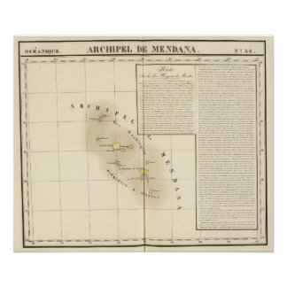 Marquesas Oceania no 34 Poster