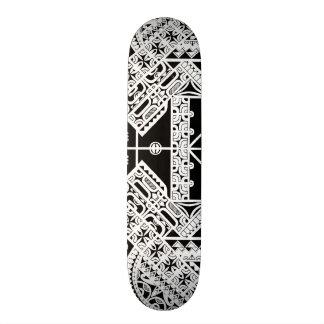 Marquesas Polynesian tribal art on skatedeck Skate Boards