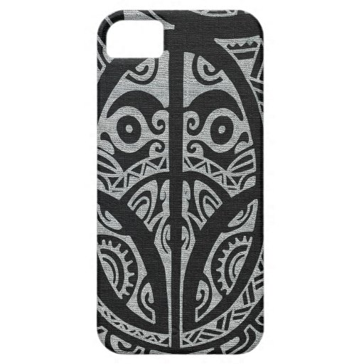 Marquesas style Kulture Tattoo Iphone Case