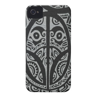 Marquesas style Kulture Tattoo Iphone Case Case-Mate iPhone 4 Case