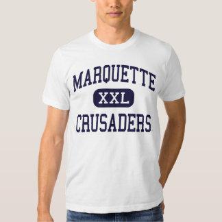 Marquette - cruzados - alto - Ottawa Illinois Playera