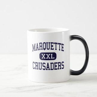 Marquette - cruzados - alto - Ottawa Illinois Taza Mágica