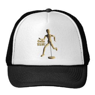 Marquette GOTTA RUN WOODEN PUPPET MAN Trucker Hat