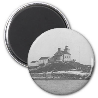 Marquette Harbor Lighthouse 2 2 Inch Round Magnet