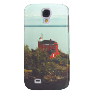 Marquette Harbor Lighthouse Samsung Galaxy S4 Cases