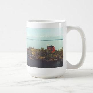 Marquette Harbor Lighthouse Coffee Mug