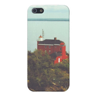 Marquette Harbor Lighthouse iPhone 5 Cases