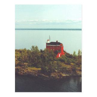 Marquette Harbor Lighthouse Postcard