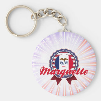 Marquette, IA Keychains