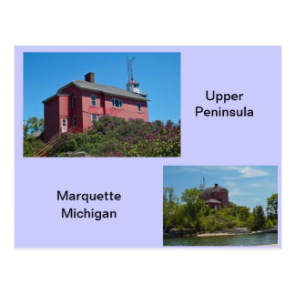 Marquette Lighthouse Post Cards