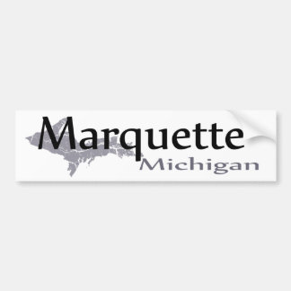 Marquette Michigan Bumper Sticker