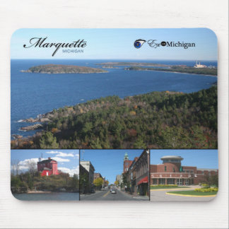 Marquette, Michigan Mouse Pad