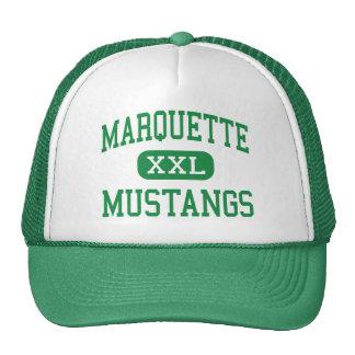 Marquette - mustangos - alto - Chesterfield Gorro