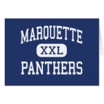 Marquette Panthers Elementary Detroit Cards