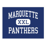 Marquette Panthers Elementary Detroit Post Card
