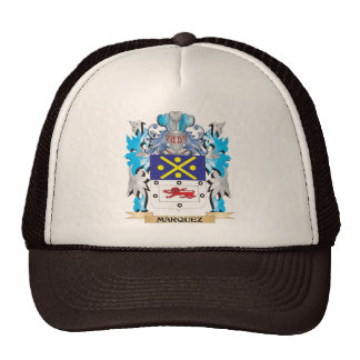 Marquez Coat of Arms - Family Crest Trucker Hats