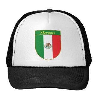 Marquez Mexico Flag Shield Mesh Hats