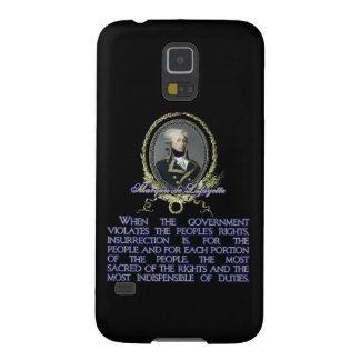 Marquis de Lafayette Quote on Insurrection Galaxy S5 Case