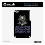 Marquis de Lafayette Quote on Insurrection iPod Touch 4G Skin
