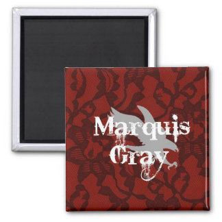Marquis Gray Magnet
