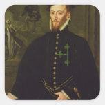Marquis of las Navas, c.1559 Square Sticker