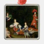 Marquise de Montespan Metal Ornament