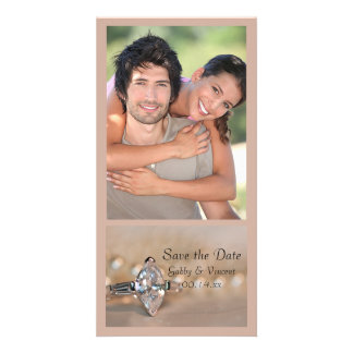 Marquise Diamond Ring Wedding Save the Date Card
