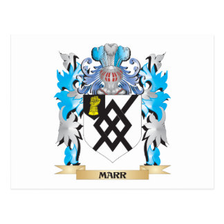 Marr Coat of Arms - Family Crest Postcard