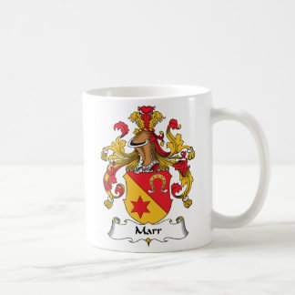 Marr Family Crest Coffee Mugs