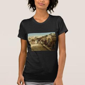 Marr Street, Tunis, Tunisia vintage Photochrom T Shirts