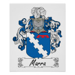 Marra Family Crest Posters