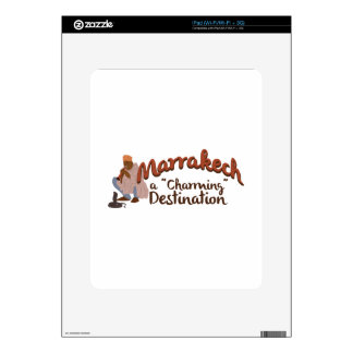 Marrakech Charming Destination iPad Skin