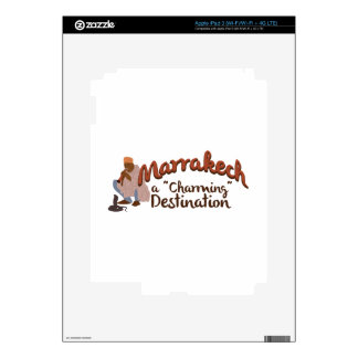 Marrakech Charming Destination Skins For iPad 3